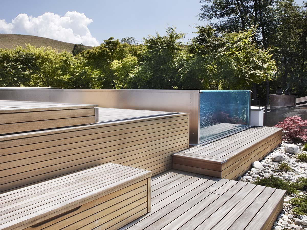 exklusive terrassenpools aus edelstahl edelstahlpools samacostyle. Black Bedroom Furniture Sets. Home Design Ideas